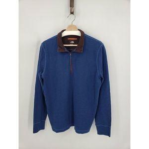The North Face Copperwood 1/4-Zip Pullover Blue